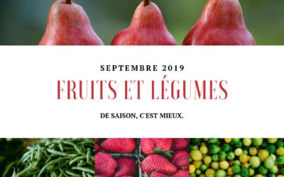 Fruits et légumes : Septembre