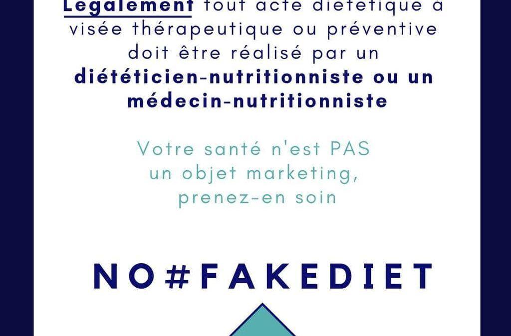 18-24 novembre 2019 : Semaine de promotion du métier de diététicien